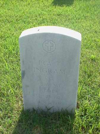INGRAM (VETERAN WWII), IRA T - Pulaski County, Arkansas   IRA T INGRAM (VETERAN WWII) - Arkansas Gravestone Photos