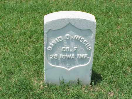 INSCHO (VETERAN UNION), DAVID D - Pulaski County, Arkansas | DAVID D INSCHO (VETERAN UNION) - Arkansas Gravestone Photos