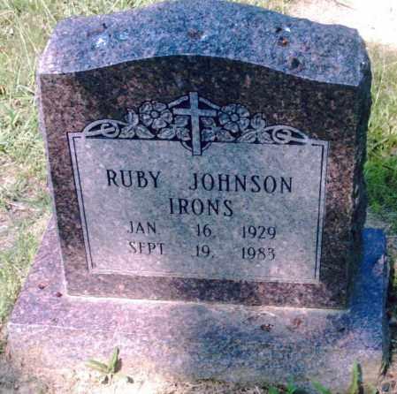 IRONS, RUBY - Pulaski County, Arkansas | RUBY IRONS - Arkansas Gravestone Photos