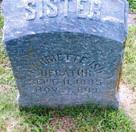 ISH, HARRIETTE - Pulaski County, Arkansas | HARRIETTE ISH - Arkansas Gravestone Photos