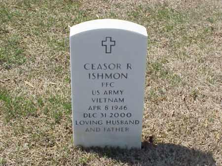 ISHMON (VETERAN VIET), CEASOR R - Pulaski County, Arkansas   CEASOR R ISHMON (VETERAN VIET) - Arkansas Gravestone Photos