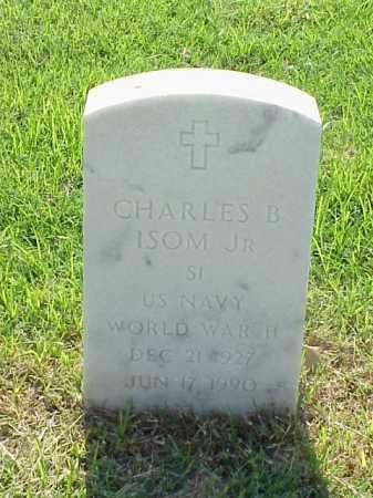 ISOM, JR (VETERAN WWII), CHARLES B - Pulaski County, Arkansas | CHARLES B ISOM, JR (VETERAN WWII) - Arkansas Gravestone Photos