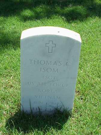 ISOM (VETERAN 2 WARS), THOMAS C - Pulaski County, Arkansas | THOMAS C ISOM (VETERAN 2 WARS) - Arkansas Gravestone Photos