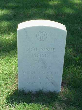ISOME (VETERAN WWII), JOHNNIE - Pulaski County, Arkansas | JOHNNIE ISOME (VETERAN WWII) - Arkansas Gravestone Photos
