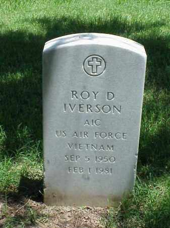 IVERSON (VETERAN VIET), ROY D - Pulaski County, Arkansas | ROY D IVERSON (VETERAN VIET) - Arkansas Gravestone Photos