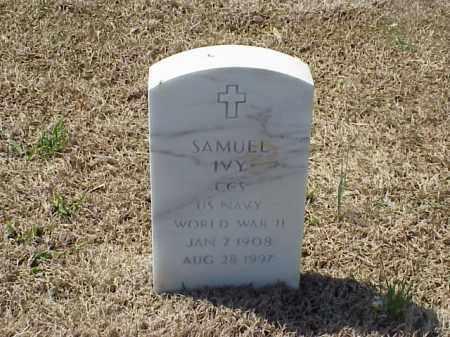 IVY (VETERAN WWII), SAMUEL - Pulaski County, Arkansas | SAMUEL IVY (VETERAN WWII) - Arkansas Gravestone Photos