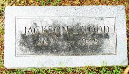 JACKSON, E. TODD - Pulaski County, Arkansas   E. TODD JACKSON - Arkansas Gravestone Photos