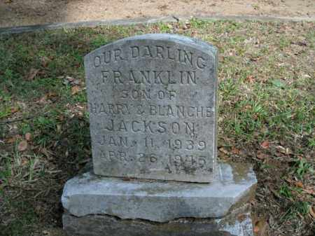 JACKSON, FRANKLIN - Pulaski County, Arkansas | FRANKLIN JACKSON - Arkansas Gravestone Photos