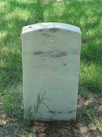 JACKSON, JR (VETERAN VIET), WILLIE A - Pulaski County, Arkansas   WILLIE A JACKSON, JR (VETERAN VIET) - Arkansas Gravestone Photos