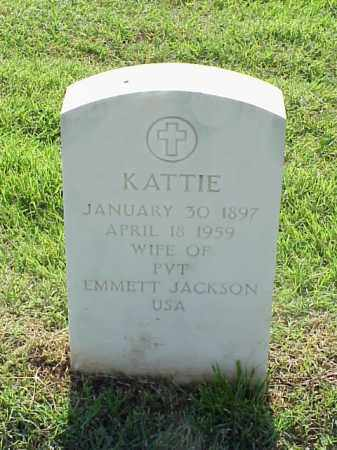 JACKSON, KATTIE - Pulaski County, Arkansas | KATTIE JACKSON - Arkansas Gravestone Photos