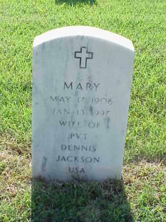 JACKSON, MARY JANE - Pulaski County, Arkansas | MARY JANE JACKSON - Arkansas Gravestone Photos