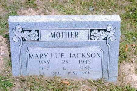 JACKSON, MARY LUE - Pulaski County, Arkansas   MARY LUE JACKSON - Arkansas Gravestone Photos