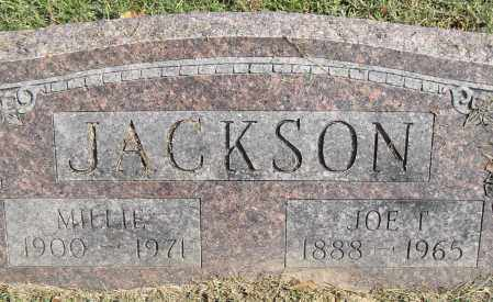 JACKSON, JOE T - Pulaski County, Arkansas | JOE T JACKSON - Arkansas Gravestone Photos