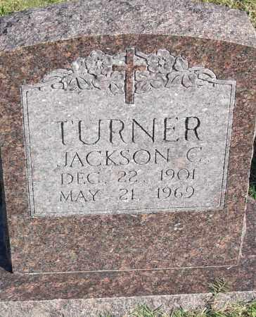 JACKSON, TURNER C - Pulaski County, Arkansas | TURNER C JACKSON - Arkansas Gravestone Photos