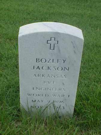 JACKSON (VETERAN WWI), BOZLEY - Pulaski County, Arkansas   BOZLEY JACKSON (VETERAN WWI) - Arkansas Gravestone Photos