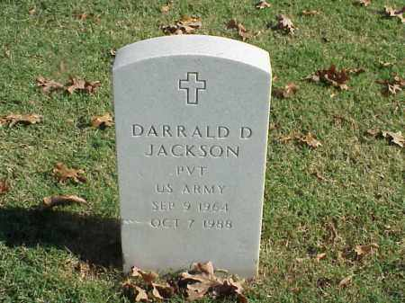 JACKSON (VETERAN), DARRALD D - Pulaski County, Arkansas | DARRALD D JACKSON (VETERAN) - Arkansas Gravestone Photos