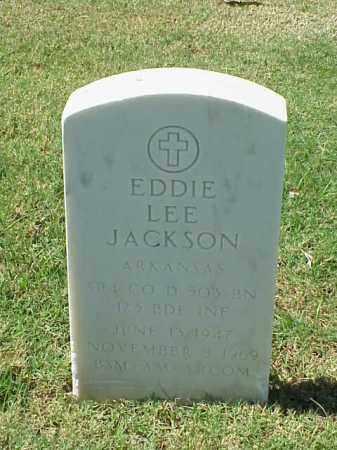 JACKSON (VETERAN), EDDIE LEE - Pulaski County, Arkansas | EDDIE LEE JACKSON (VETERAN) - Arkansas Gravestone Photos