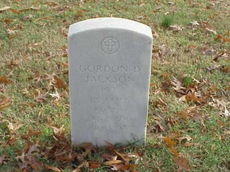 JACKSON (VETERAN KOR), GORDON D - Pulaski County, Arkansas | GORDON D JACKSON (VETERAN KOR) - Arkansas Gravestone Photos