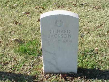 JACKSON (VETERAN), RICHARD - Pulaski County, Arkansas | RICHARD JACKSON (VETERAN) - Arkansas Gravestone Photos
