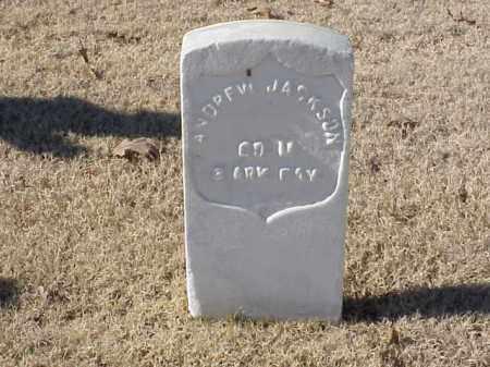 JACKSON (VETERAN UNION), ANDREW - Pulaski County, Arkansas   ANDREW JACKSON (VETERAN UNION) - Arkansas Gravestone Photos