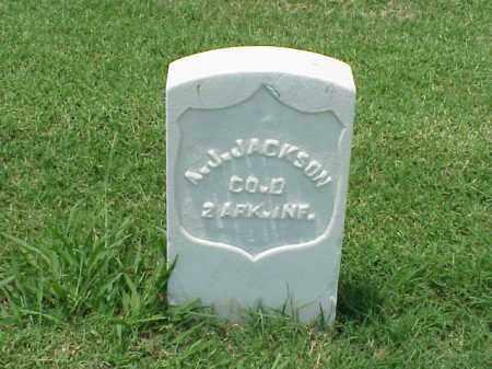JACKSON (VETERAN UNION), ANDREW J - Pulaski County, Arkansas | ANDREW J JACKSON (VETERAN UNION) - Arkansas Gravestone Photos