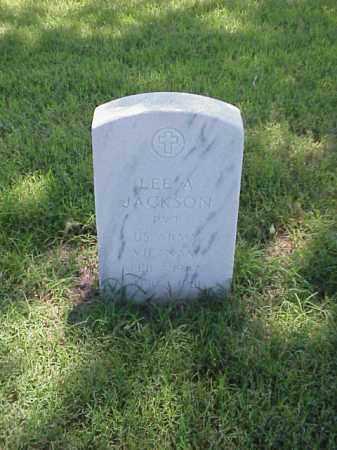JACKSON (VETERAN VIET), LEE A - Pulaski County, Arkansas   LEE A JACKSON (VETERAN VIET) - Arkansas Gravestone Photos