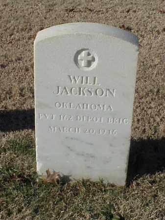 JACKSON (VETERAN), WILL - Pulaski County, Arkansas   WILL JACKSON (VETERAN) - Arkansas Gravestone Photos