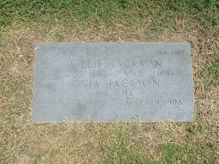 JACKSON, JULIA - Pulaski County, Arkansas | JULIA JACKSON - Arkansas Gravestone Photos