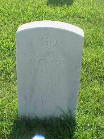 JACKSON (VETERAN WWII), CURTIS - Pulaski County, Arkansas | CURTIS JACKSON (VETERAN WWII) - Arkansas Gravestone Photos