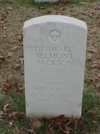 JACKSON (VETERAN WWII), DURWARD BELMONT - Pulaski County, Arkansas | DURWARD BELMONT JACKSON (VETERAN WWII) - Arkansas Gravestone Photos
