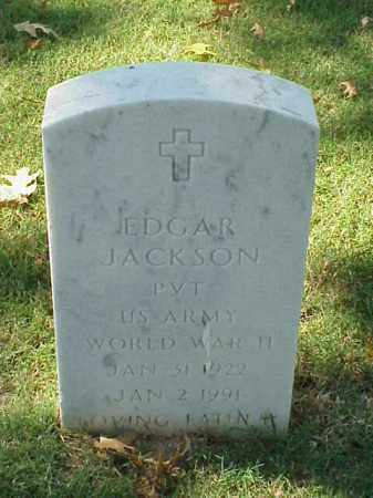 JACKSON (VETERAN WWII), EDGAR - Pulaski County, Arkansas | EDGAR JACKSON (VETERAN WWII) - Arkansas Gravestone Photos