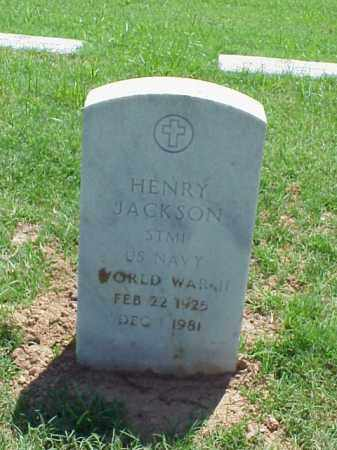 JACKSON (VETERAN WWII), HENRY - Pulaski County, Arkansas | HENRY JACKSON (VETERAN WWII) - Arkansas Gravestone Photos