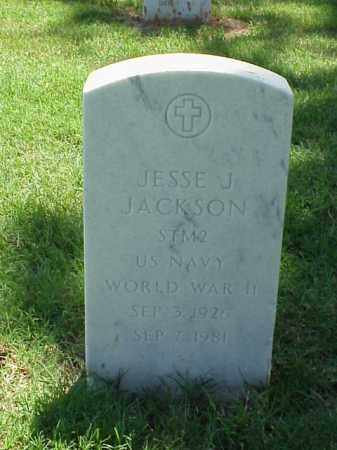 JACKSON (VETERAN WWII), JESSE J - Pulaski County, Arkansas   JESSE J JACKSON (VETERAN WWII) - Arkansas Gravestone Photos