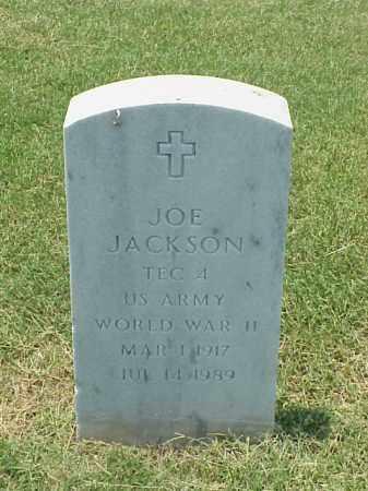 JACKSON (VETERAN WWII), JOE - Pulaski County, Arkansas | JOE JACKSON (VETERAN WWII) - Arkansas Gravestone Photos