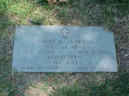 JACKSON, DORTHY L - Pulaski County, Arkansas   DORTHY L JACKSON - Arkansas Gravestone Photos