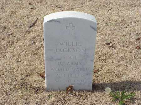 JACKSON (VETERAN WWII), WILLIE - Pulaski County, Arkansas | WILLIE JACKSON (VETERAN WWII) - Arkansas Gravestone Photos