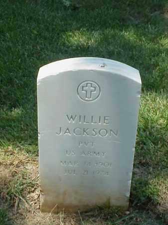 JACKSON (VETERAN WWII), WILLIE - Pulaski County, Arkansas | WILLIE JACKSON (VETERAN WWII) - Arkansas Gravestone Photos