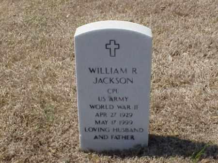JACKSON (VETERAN WWII), WILLIAM R - Pulaski County, Arkansas | WILLIAM R JACKSON (VETERAN WWII) - Arkansas Gravestone Photos