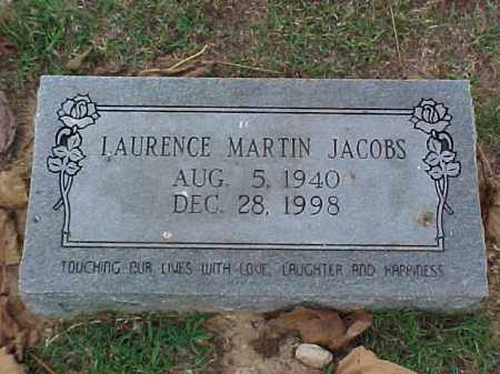 JACOBS, LAURENCE MARTIN - Pulaski County, Arkansas | LAURENCE MARTIN JACOBS - Arkansas Gravestone Photos
