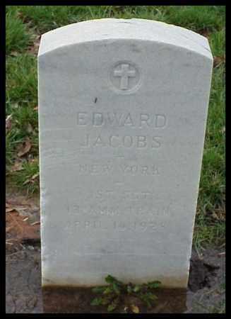 JACOBS (VETERAN WWI), EDWARD - Pulaski County, Arkansas | EDWARD JACOBS (VETERAN WWI) - Arkansas Gravestone Photos