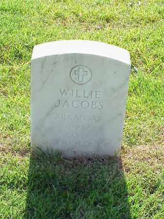 JACOBS (VETERAN WWI), WILLIE - Pulaski County, Arkansas | WILLIE JACOBS (VETERAN WWI) - Arkansas Gravestone Photos