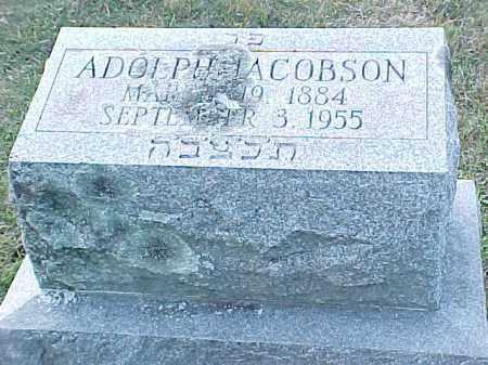 JACOBSON, ALDOLPH - Pulaski County, Arkansas | ALDOLPH JACOBSON - Arkansas Gravestone Photos