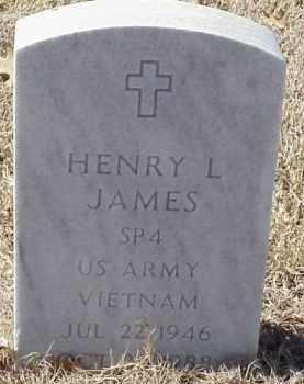 JAMES  (VETERAN VIET), HENRY L - Pulaski County, Arkansas | HENRY L JAMES  (VETERAN VIET) - Arkansas Gravestone Photos