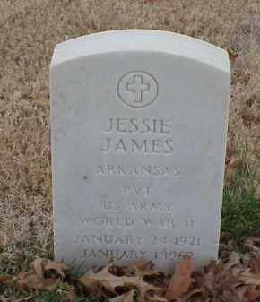 JAMES  (VETERAN WWII), JESSIE - Pulaski County, Arkansas | JESSIE JAMES  (VETERAN WWII) - Arkansas Gravestone Photos