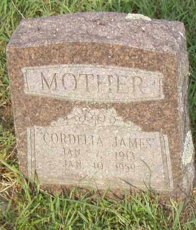 JAMES, CORDELIA - Pulaski County, Arkansas | CORDELIA JAMES - Arkansas Gravestone Photos