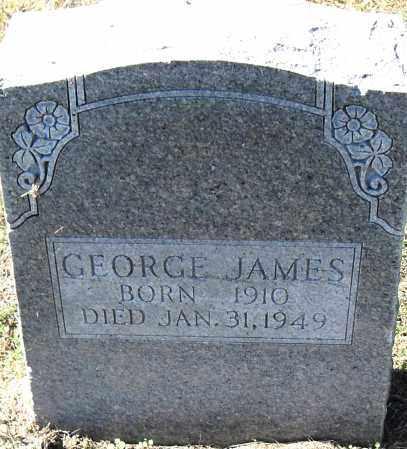 JAMES, GEORGE - Pulaski County, Arkansas | GEORGE JAMES - Arkansas Gravestone Photos