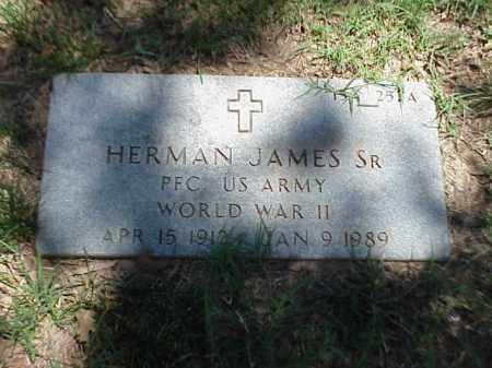 JAMES, SR (VETERAN WWII), HERMAN - Pulaski County, Arkansas | HERMAN JAMES, SR (VETERAN WWII) - Arkansas Gravestone Photos