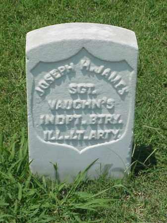 JAMES (VETERAN UNION), JOSEPH H - Pulaski County, Arkansas | JOSEPH H JAMES (VETERAN UNION) - Arkansas Gravestone Photos