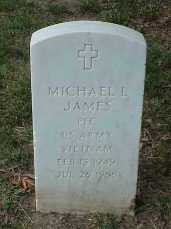 JAMES (VETERAN VIET), MICHAEL L - Pulaski County, Arkansas   MICHAEL L JAMES (VETERAN VIET) - Arkansas Gravestone Photos