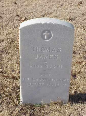 JAMES (VETERAN WWI), THOMAS - Pulaski County, Arkansas | THOMAS JAMES (VETERAN WWI) - Arkansas Gravestone Photos